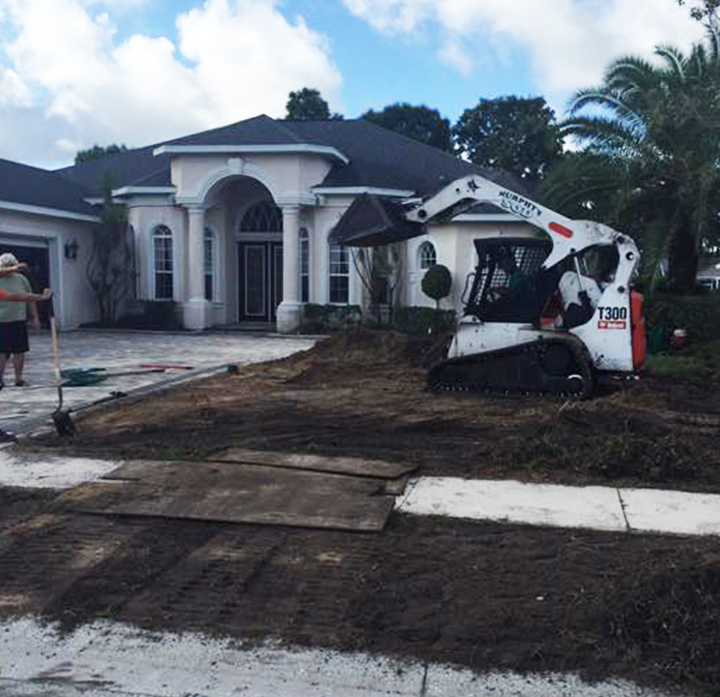 Murphys Sod and lansdscaping sod installation company